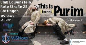 This is Purim - still jewing it... @ Club Löwenstein